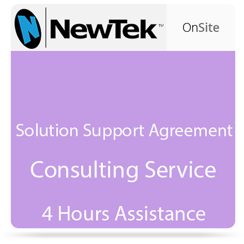 NewTek 4-Hour Solution Support Agreement (Nontaxble)