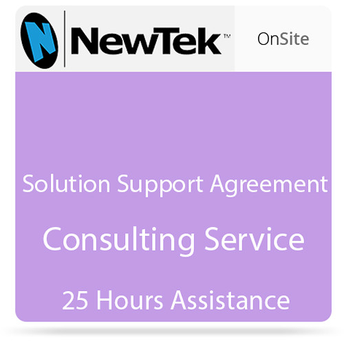 NewTek 25-Hour Solution Support Agreement (Nontaxable)