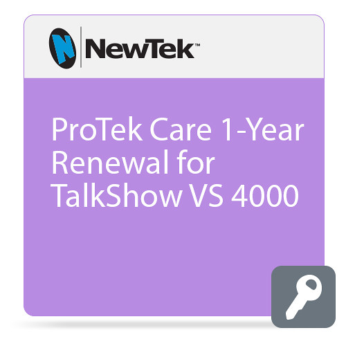 NewTek ProTek Care 1-Year Renewal for Talkshow VS 4000