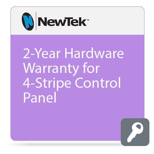 NewTek 2-Year Hardware Warranty for 4-Stripe Control Panel