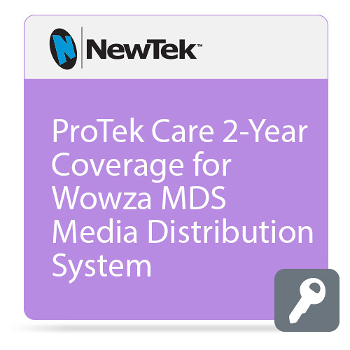 NewTek ProTek Care 2-Year Coverage for Wowza MDS