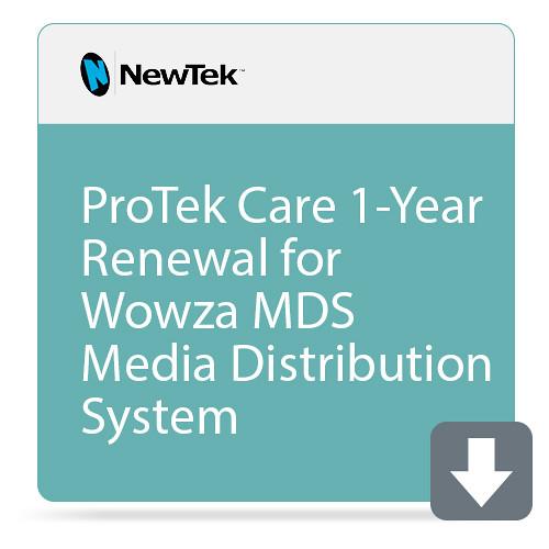 NewTek ProTek Care 1-Year Renewal for Wowza MDS