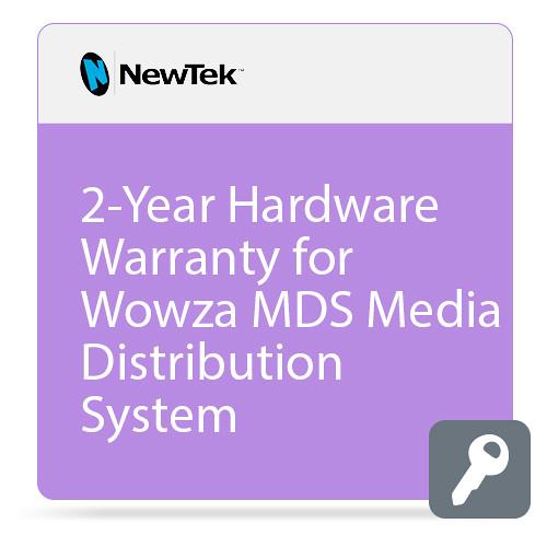 NewTek 2-Year Hardware Warranty for Wowza MDS Media Distribution System