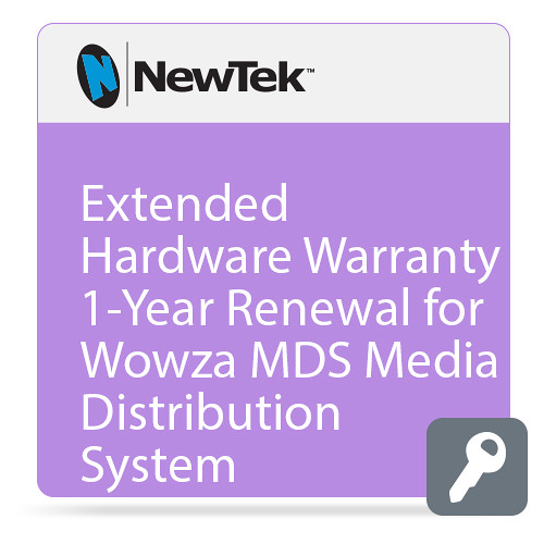 NewTek Extended Hardware Warranty for Wowza MDS