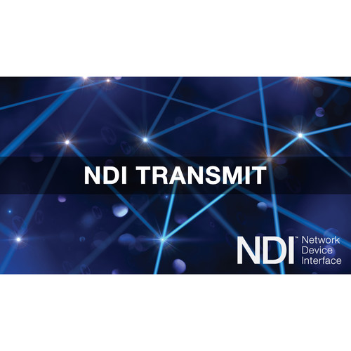 NewTek NDI Transmit (Download)