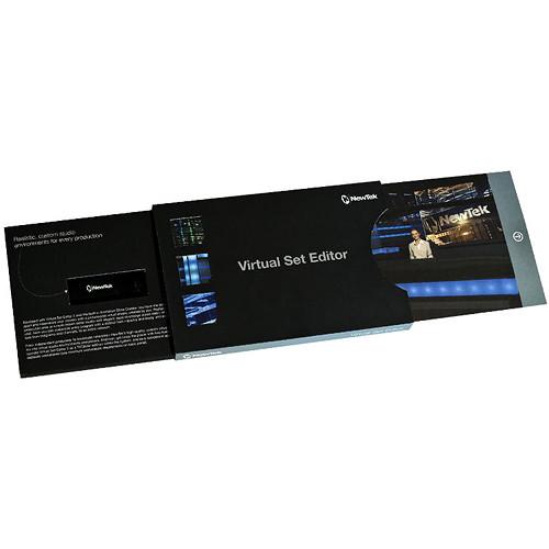 NewTek Virtual Set Editor 2.5 Upgrade (Download)