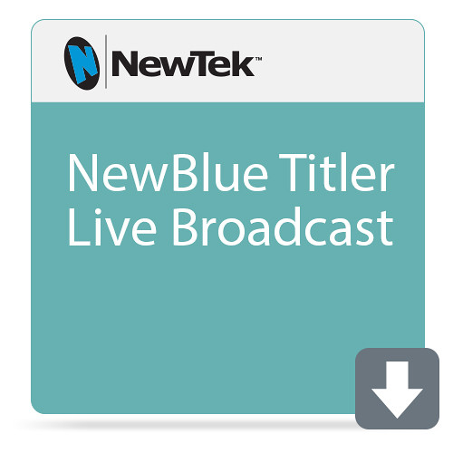 NewTek NewBlue Titler Live Broadcast (Download)