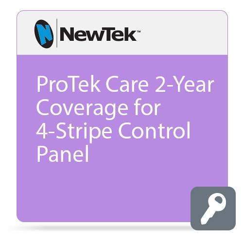 NewTek ProTek Care 2-Year Coverage for 4-Stripe Control Panel
