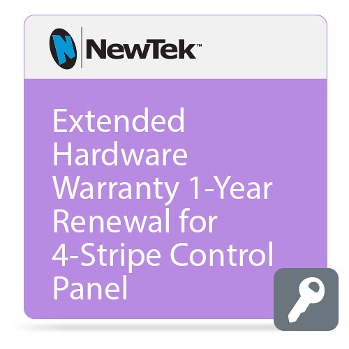 NewTek Extended Hardware Warranty 1-Year Renewal for 4-Stripe Control Panel