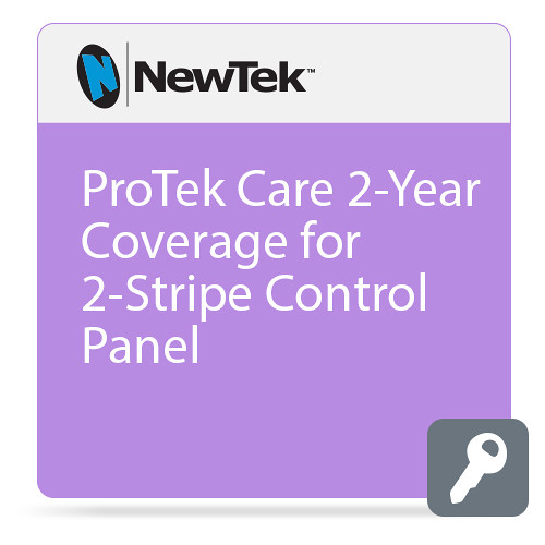 NewTek ProTek Care 2-Year Coverage for 2-Stripe Control Panel
