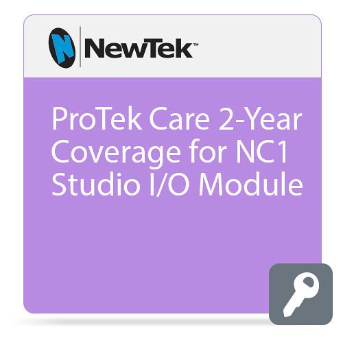 NewTek ProTek Care 2-Year Coverage for NC1 Studio I/O Module