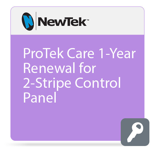 NewTek ProTek Care 1-Year Renewal for 2-Stripe Control Panel