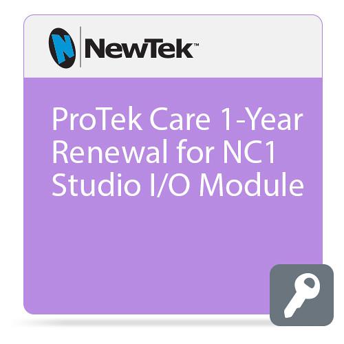 NewTek ProTek Care 1-Year Renewal for NC1 Studio I/O Module