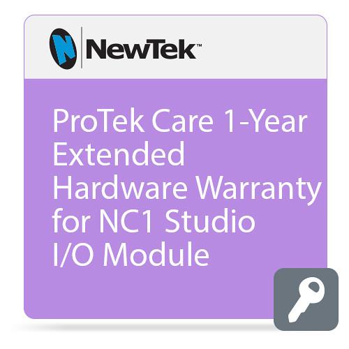 NewTek ProTek Care 1-Year Extended Hardware Warranty for NC1 Studio I/O Module