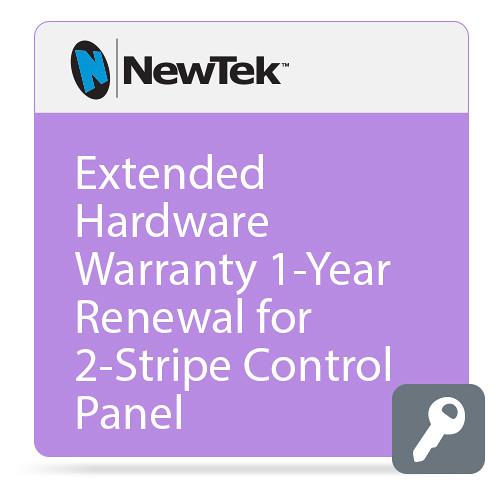 NewTek Extended Hardware Warranty 1-Year Renewal for 2-Stripe Control Panel