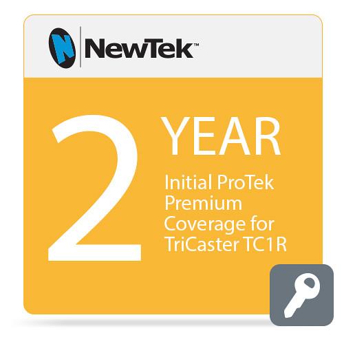 NewTek 2-Year Initial ProTek Premium Coverage for TriCaster TC1R (Download)