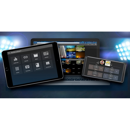 NewTek NewTek LivePanel for TriCaster TC1 and IP Series (Electronic Download)