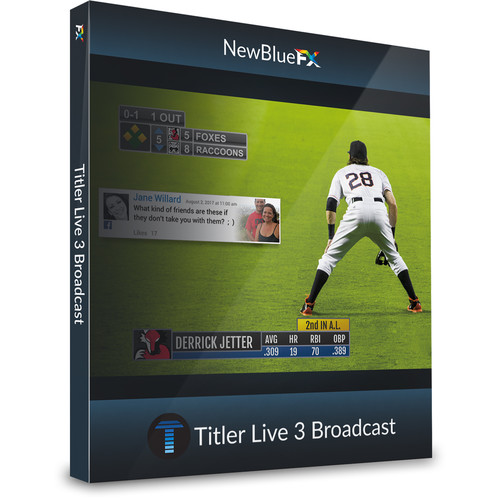 NewTek NewBlueFX Titler Live 3 Broadcast Coupon Code (Download)