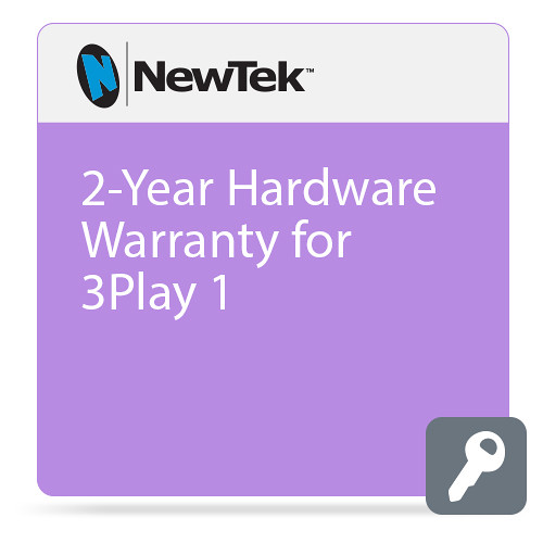 NewTek 2-Year Hardware Warranty for 3Play 1