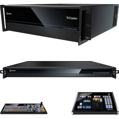 NewTek Live Sports TC1 R3 Solution (Tricaster TC1R3, NC1 I/O TC1 LP and 3Play 3P1)