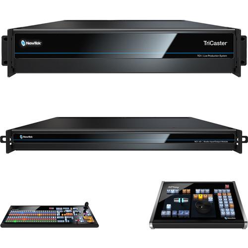 NewTek Live Sports TC1 Solution (Tricaster TC1, NC1 I/O, TC1 LP and 3Play 3P1)
