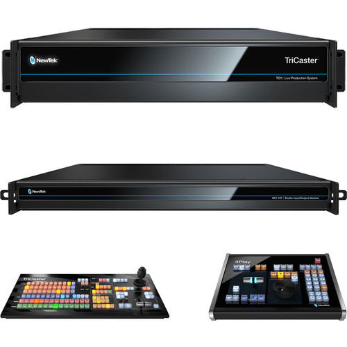 NewTek Live Sports TC1 Solution (Tricaster TC1, NC1 I/O, TC1 SP and 3Play 3P1)