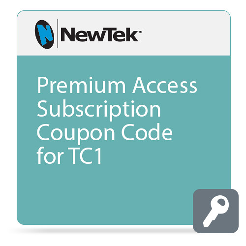 NewTek Premium Access Annual Subscription for TC1 (Introductory Pricing)