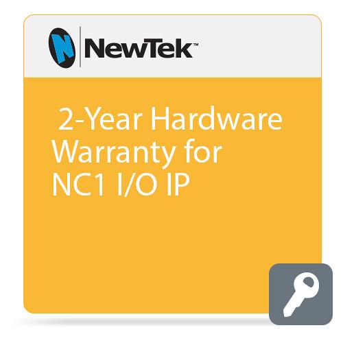 NewTek 2-Year Hardware Warranty for NC1 I/O IP (1 Year Extension plus 1 Year Standard Warranty)