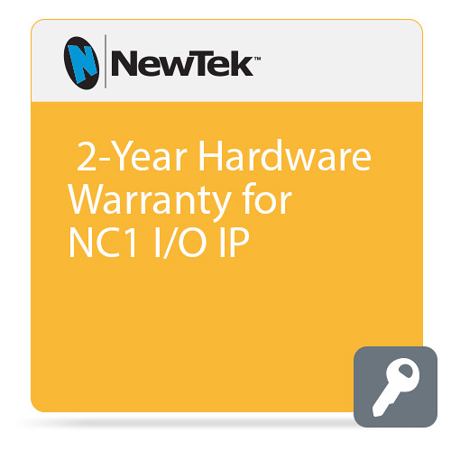 NewTek 2-Year Hardware Warranty for NC1 I/O IP (1 Year Extension plus 1 Year Standard Warranty)