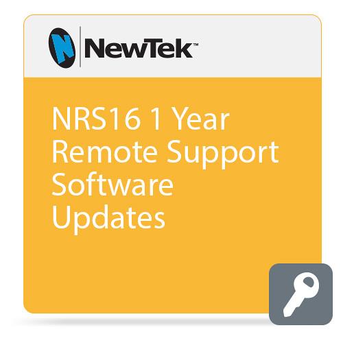NewTek NRS16  1 Year Remote Support  Software Updates (W/O Additional Warranty)