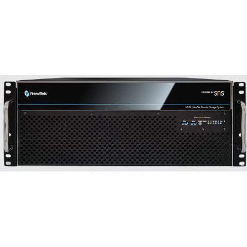 NewTek NRS8 Remote Storage with SNS 8Bay/48TB with 2x1 GBE Ports,Plus 6 Additional Ports of 1 GBE(NRS-6X1G)