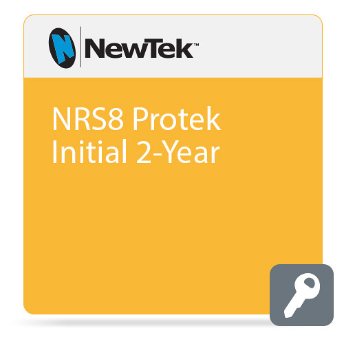 NewTek NRS8 Protek Initial 2-Year (Premium Service, Remote Support, Extended Warranty  Software Updates)