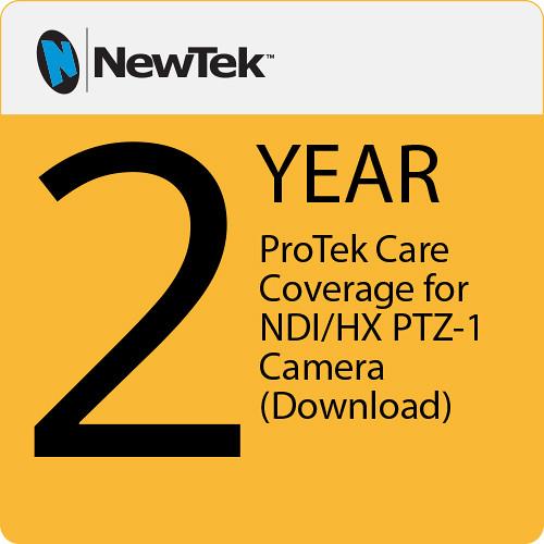 NewTek ProTek Care 2-Year Coverage for NDI HX PTZ-1 Camera (Download)