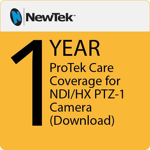 NewTek ProTek Care 1-Year Renewal for NDI|HX PTZ-1 Camera (Download)