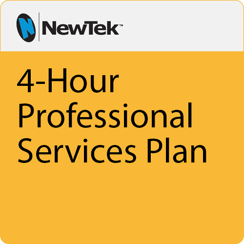 NewTek 4 Hour Professional Services Plan