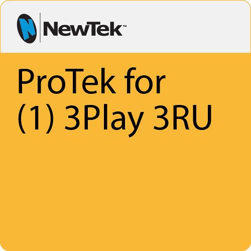 NewTek ProTek Care 2-Year Coverage for 3Play 1 3RU