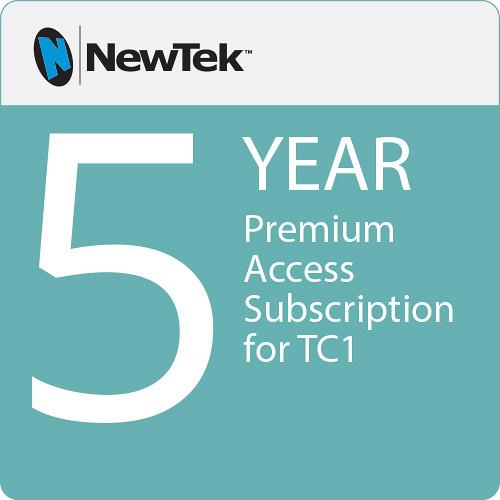 NewTek Premium Access Subscription for TC1 (5-Year)