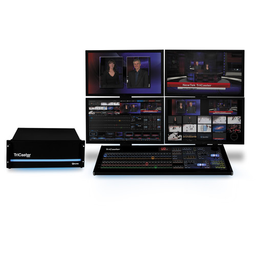 NewTek TriCaster 8000 Advanced with 8000 Control Surface