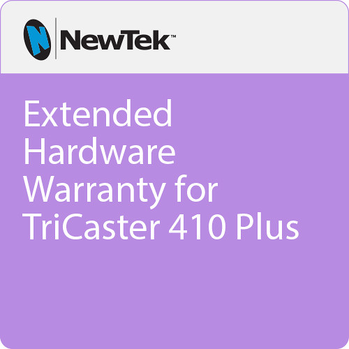 NewTek Extended Hardware Warranty for TriCaster 410 Plus