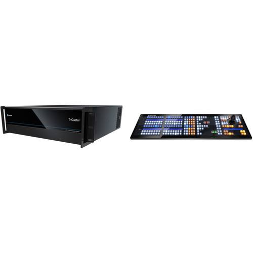 NewTek TriCaster TC1 R3 PLUS Select Bundle with Control Panel