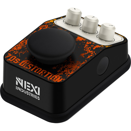 NEXI Industries Urban Series 70's Distortion Pedal for Electric Guitar