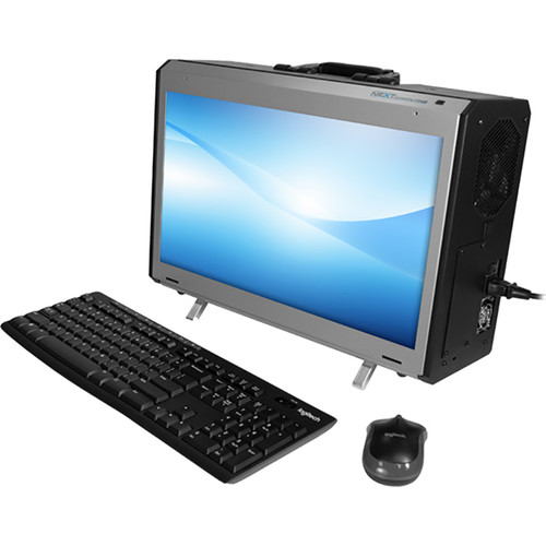 "NextComputing Radius All-In-One 17.3"" Portable Desktop Computer"
