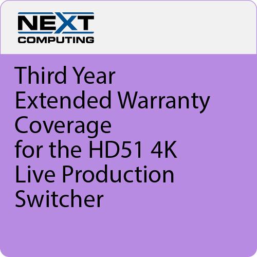 NextComputing 2nd Year Warranty Coverage for Livestream Studio HD550 4K