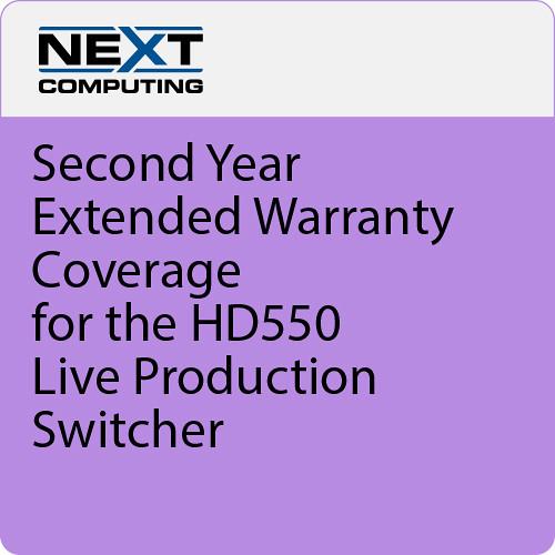 NextComputing 2nd Year Warranty Coverage for Livestream Studio HD550