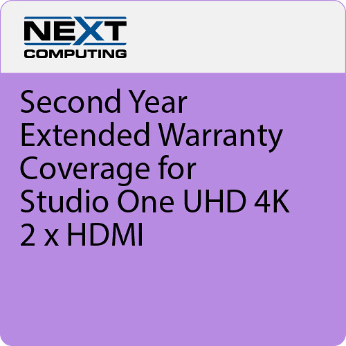 NextComputing 2nd Year Warranty Coverage for Livestream Studio One 4K HDMI
