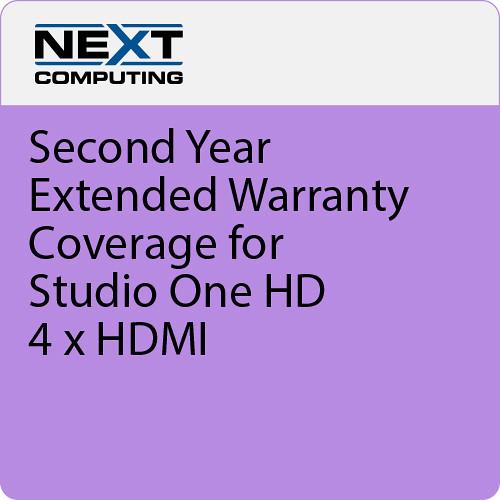 NextComputing 2nd Year Warranty Coverage for Livestream Studio One HD HDMI