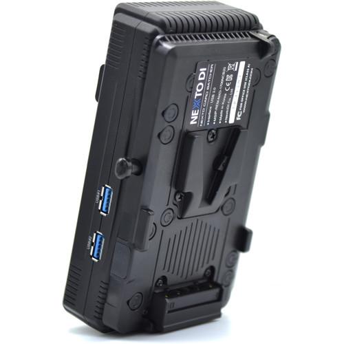 NEXTO DI Ncb-20-SD (0001) With V-Mount Battery Bracket Option Installed