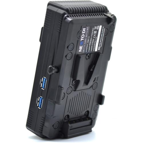 NEXTO DI Ncb-20-CFAST(0002) With V-Mount Battery Bracket Option Installed
