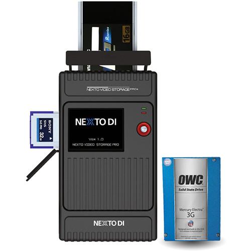 NEXTO DI NVS2525-P Video Storage Pro+ with Plus 1 Pack & 480GB SSD