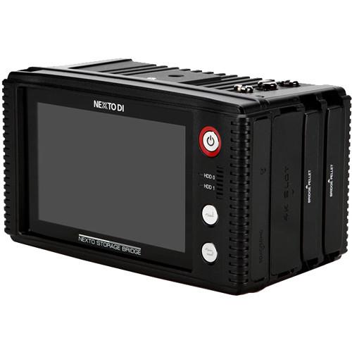 "NEXTO DI 4K UHD Modular Memory Storage Bridge with 5"" LCD Monitor"